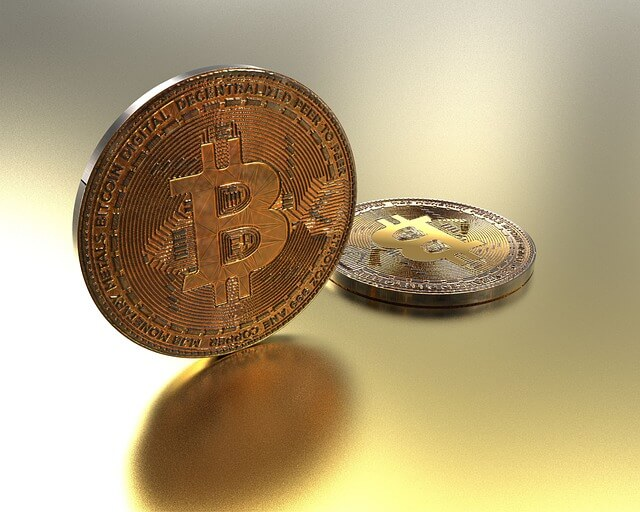 Golden Coin BTC - two coins